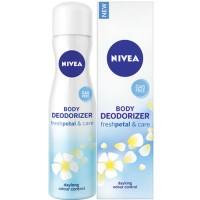 Nivea Body Deodorizer Fresh Petal & Care Spray For Women
