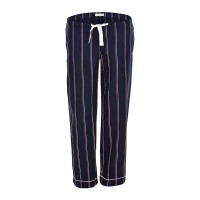 Nordlich Pinstripes Women's Striped Pajama - Navy