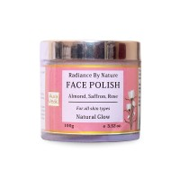 AuraVedic Radiance by Nature Face Polish - Rose Almond with Saffron Scrub