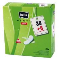 Bella Panty Mini A30+6 Panty Liner