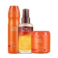 Wella Professionals Complete Hair Care Regime For Dry And Damaged Hair
