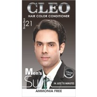 Cleo Hair Color Conditioner for Men Swift - Brown Black 21