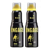 Engage Men Deodorant - Urge - Pack Of 2