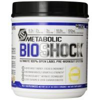 Giant Sports Metabolic Bioshock Pre Workout Supplement - Lemonade