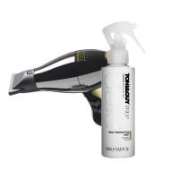 Toni&Guy Heat Protection Mist + Elchim 3900 Healthy Ionic Hair Dryer - Black & GoldSpray