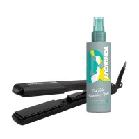 Toni&Guy Limited Edition Casual Sea Salt Texturising Spray + Corioliss Pro-V Jet Black Hair Straightener