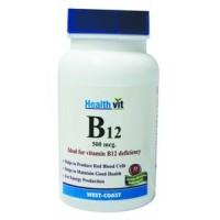 HealthVit B12 Ideal for Vit B12 Deficiency 60 Tablets