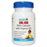 HealthVit Cal-Kid Calcium With Vitamin D3 (60 Tablets)