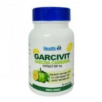 HealthVit Garcivit Garcinia Powder 500 mg (60 Caps)