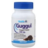 HealthVit Guggul Powder 250 mg 60 Capsules For Weight Management