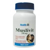 HealthVit Muslivit 250mg (60 Caps)