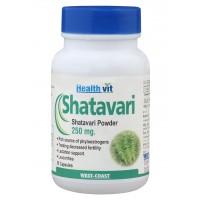 Healthvit Shatavari Powder 250mg (60 Caps)