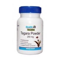 HealthVit Tagara Powder 250mg 60 Capsules For Sleep Disorders