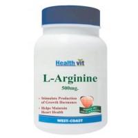 Healthvit L-Arginine 500mg (60 Caps)