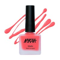 Nykaa Matte Nail Enamel - Cherry Pop