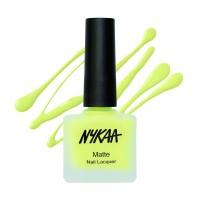 Nykaa Matte Nail Enamel - Lemonade Fizz