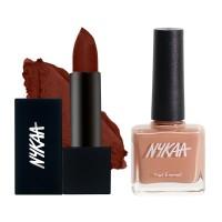 Nykaa Perfect Wakeup Call! Lips & Nails Combo
