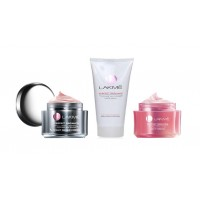Lakme Perfect Radiance Intense Whitening Face Wash 50Gm + Night Repair Cream + Fairness Day Cream 50G