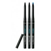 Lakme Eyeconic Kajal - Black (Pack Of 2) + Royal Blue