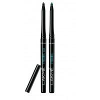 Lakme Eyeconic Kajal - Black + Regal Green