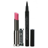Lakme Absolute Gloss Addict - Candy Pink + Lakme Absolute Precision Liquid Liner