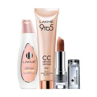 Lakme Peach Milk Moisturiser SPF 24 PA++ +  CC Face Cream Beige + Free Enrich Lip Color - Full Size Tester