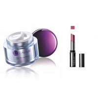 Lakme Youth Infinity Skin Firming Night Creme + Lakme Absolute Creme Lipcolor - Plum Glimmer