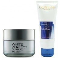 L'Oreal Paris White Perfect Clinical Day Cream + Free Get White Perfect Facial Foam