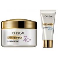 L'Oreal Paris Age 40+ Skin Perfect Cream + Free Cream UV Filters