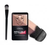 L'Oreal Paris Infallible Pro Contour Palette - 815 Deep + Free Makeup Brush