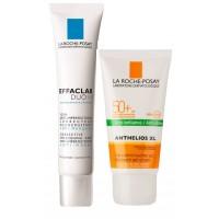 La Roche-Posay Acne Care + Protect Combo Kit