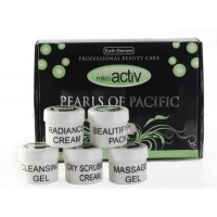 Mikroactiv Pearls Of Pacific Facial Kit (Set of 5)