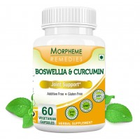 Morpheme Remedies Boswellia & Curcumin For Joint Support - 500mg Extract