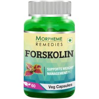 Morpheme Remedies Forskolin - Pure Coleus Forskohlii For Weight Loss & Energy - 500mg Extract