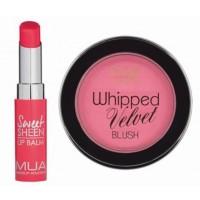 MUA Pink Blush & Lip Balm Combo