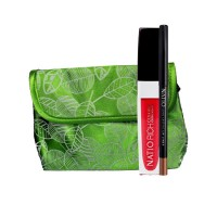 Natio Rich Colour Creme Gloss + Mechanical Long Lasting Lip Liner Combo Kit