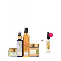 Forest Essentials Monsoon Regime For Oily Skin Combo