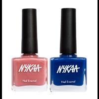 Nykaa Nails Enamel - Rose & Raspberry Combo