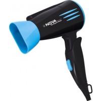 Nova Professional 1800 Watts NHP 8200 Hair Dryer (Black, Blue)