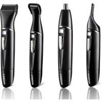 Nova NG 910 100% Waterproof Portable Grooming Kit For Men (Black)