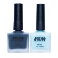 Nykaa Matte Nail Enamel - Into The Sea Combo