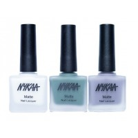Nykaa Matte Nail Enamel - Blueberry Fields Forever Combo