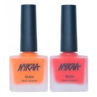 Nykaa Neon Matte Fluorescent Delight Nail Enamel Combo