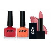 Nyka Untold Secret Lipstick & Nail Combo