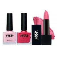 Nykaa Color De Mariage Lipstick & Nail Combo