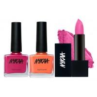 Nykaa Absolutely Me Lipstick & Nail Combo