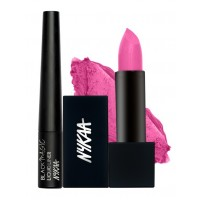 Nykaa Pink Pleats Eyes & Lips Combo