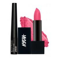 Nykaa Blush Pink Eyes & Lips Combo