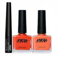 Nykaa Colour To Wear Eyes & Nails Combo
