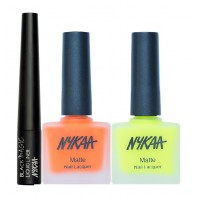 Nykaa Push & Pour Eyes & Nails Combo